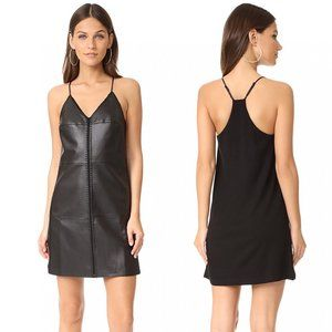 Bailey 44 Belize Faux Leather Mini Dress Small